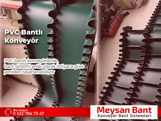 PVC Bantlı Konveyör